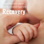 Information about getting a tubal ligation: Recovery