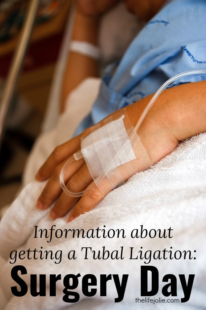 Here is a ton of great information about what to expect on the day of your Tubal Ligation surgery. This includes preparing for surgery and my experience at the hospital before and after the procedure.