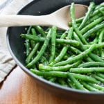 Nanou's Garlic Green Beans