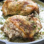 Roast Turkey Thighs for Two
