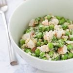 Peas and Shrimp Salad