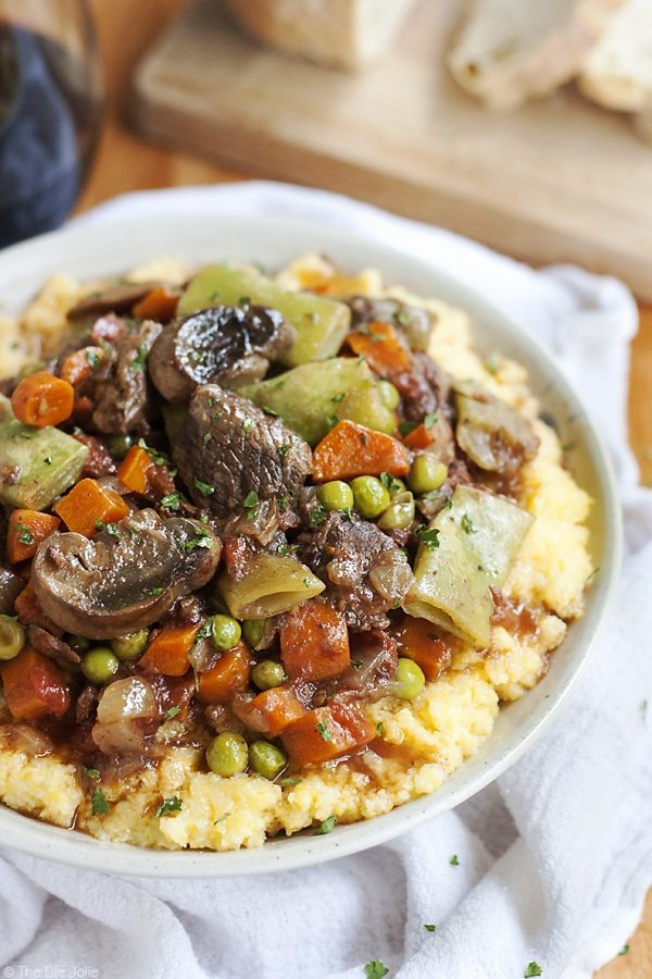 This Slow Cooker Italian Beef Stew recipe is one of my favorite easy ...