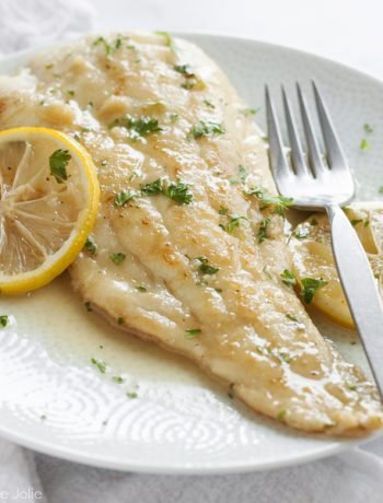 This Date Night Fish for Two with a Lemon Sherry Pan Sauce is such an easy date night recipe option! It works great with any white fish and is the best way to use a few simple ingredients to create a healthy and delicious treat for dinner with the person you love. This is perfect for Valentine's Day!