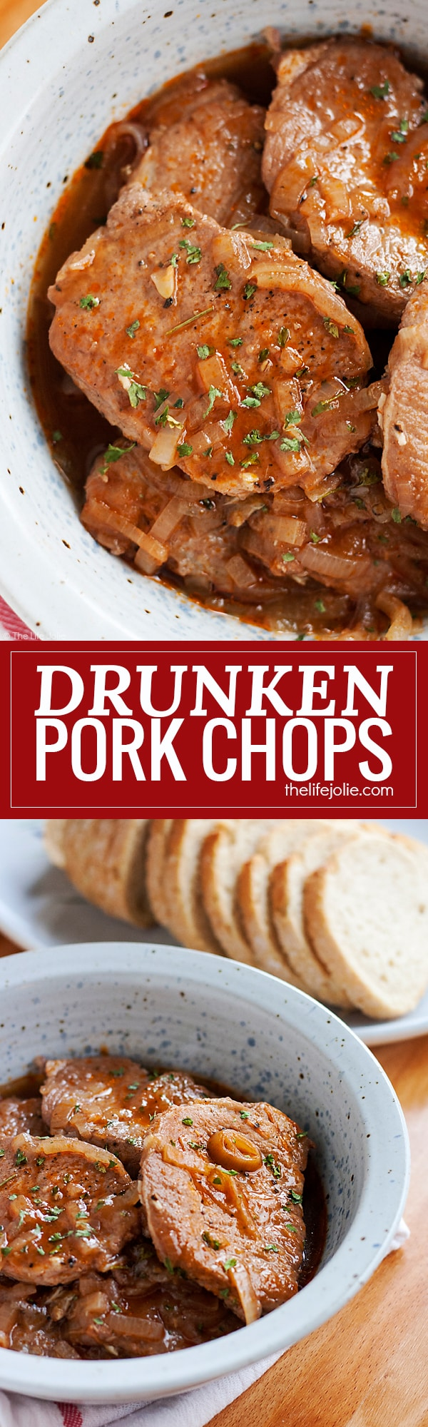 Drunken Pork Chops Is One Of The Easiest Dinner Recipes For Busy Families This