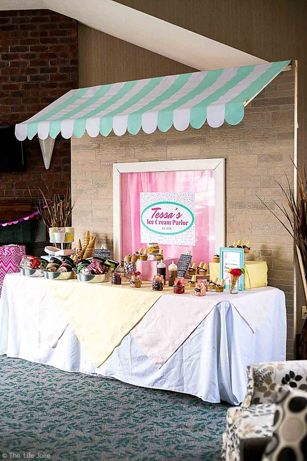 How To Make A Diy Awning And Table Backdrop For A Party