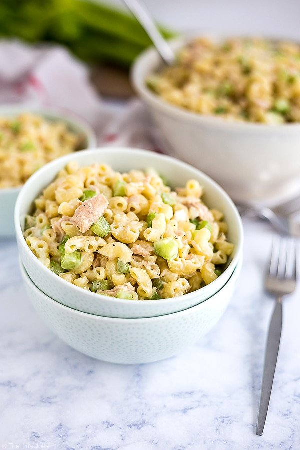 Tuna Macaroni Salad And Easy And Delicious Family Favorite Side Dish