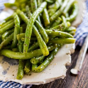 Square image of Green Bean Salad.