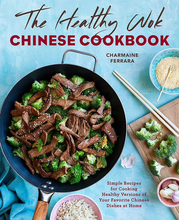 The cover of The Flaming Wok Healthy Chinese Cookbook