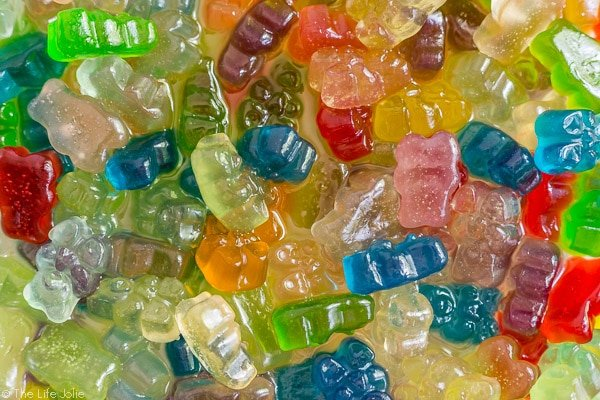 vodka soaked gummy bears
