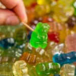 This is an easy recipe for how to make Vodka Gummy Bears. They are super easy to make and are the perfect addition to any adult party. These are made with Whipped Cream Flavored Vodka, but you can use any alcohol that you'd like.