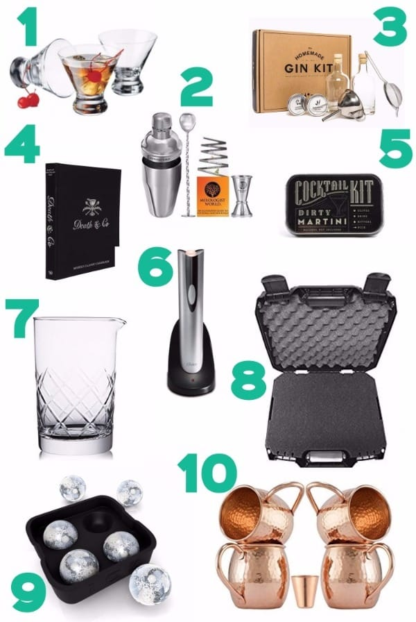 An image of the Best Home Bar Essentials for Cocktail Enthusiasts.