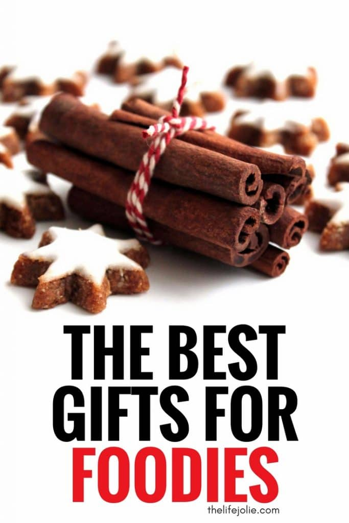 The Best Gifts for Foodies - A list of a ton of great present ideas for the food lover in your life!
