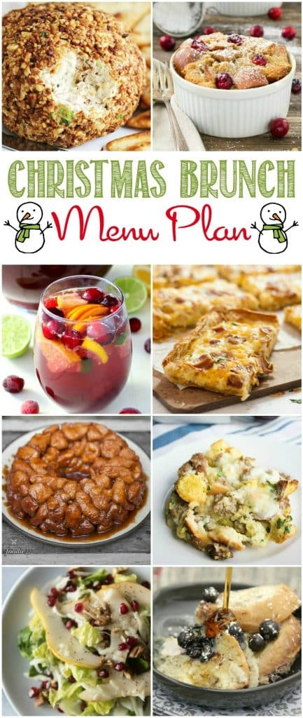 Check out this awesome Stress-free Christmas Brunch Menu Plan from some awesome bloggers!