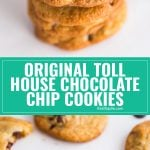 This is the Original Nestle's Toll House Cookie Recipe. It's by far the very best chocolate chip cookie recipe- the perfect dessert for kids and adults alike!