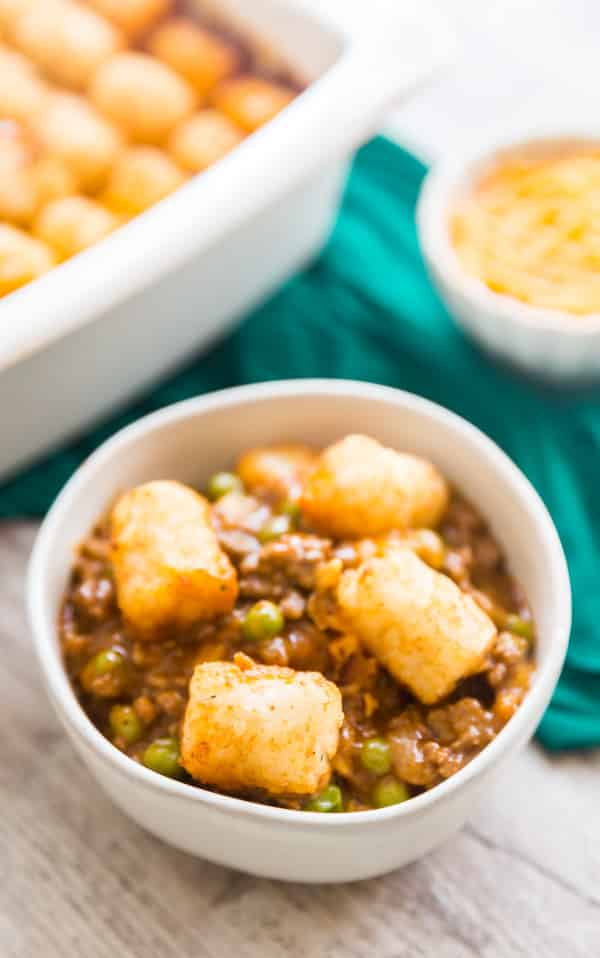 recipe for tater tot casserole