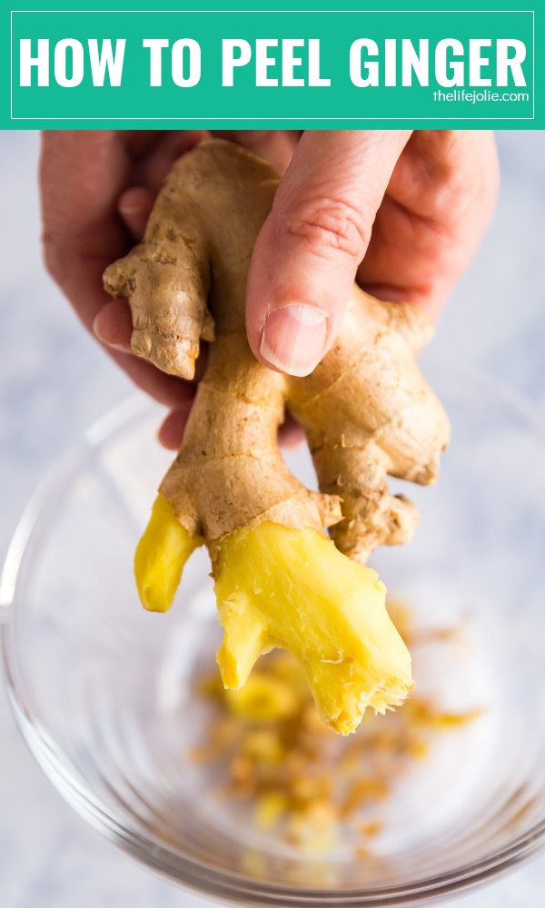 Did you know that you don't need to use a peeler to peel ginger? I'm going to show you how to peel ginger with one simple tool that we all have in our kitchen!