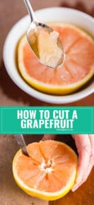 Grapefruit is such a delicious and refreshing breakfast option and I'm going to show you how to cut grapefruit in a quick and easy tutorial!