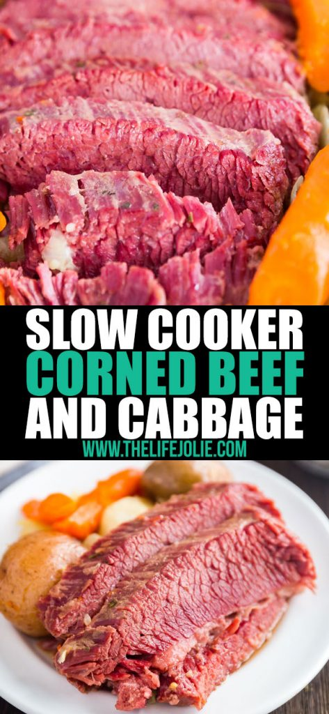 Do me a favor: make this Easy Corned Beef and Cabbage in the instant pot or the slow cooker. It's a super simple recipe with fall apart tender meat and tasty veggies. Trust me, this one's a keeper!
