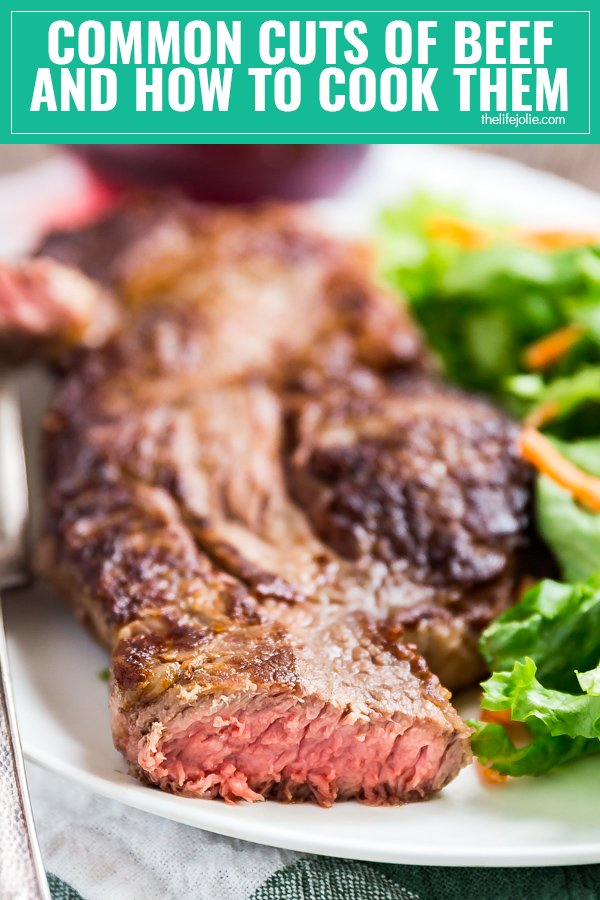 Sometimes you've to got to stray from the usual ribeye and filet mignon options- so I'm going to share a few common cuts of beef that you'll find at your grocery store and everything you need to know about cooking them. Let me demystify the meat case for you!