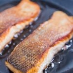 How to sear salmon