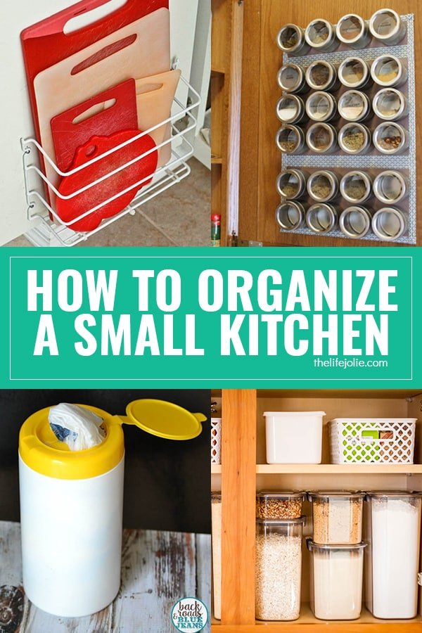 How To Make The Most Of Space And Storage In Small Kitchens | The Life  Jolie Kitchen Basics