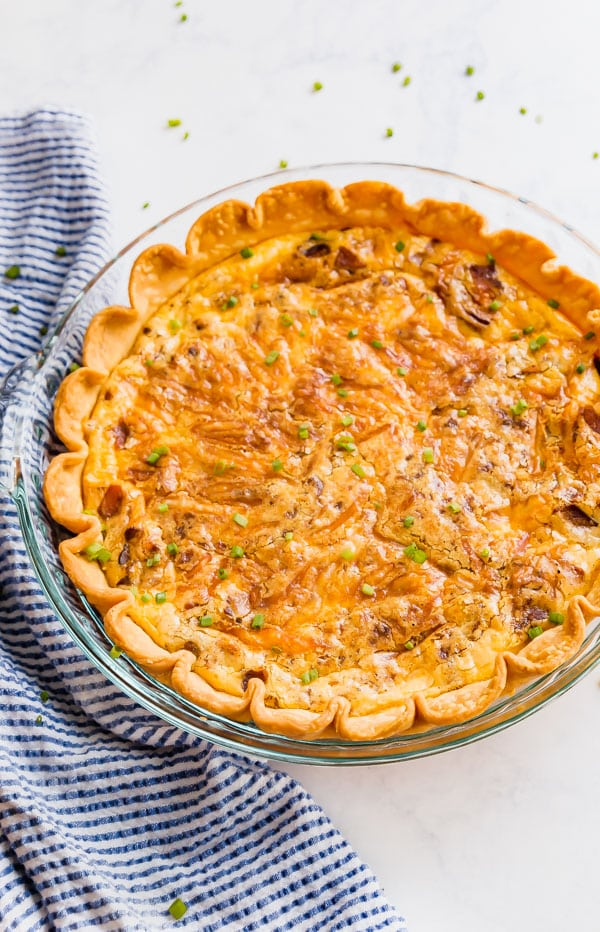 What is quiche lorraine