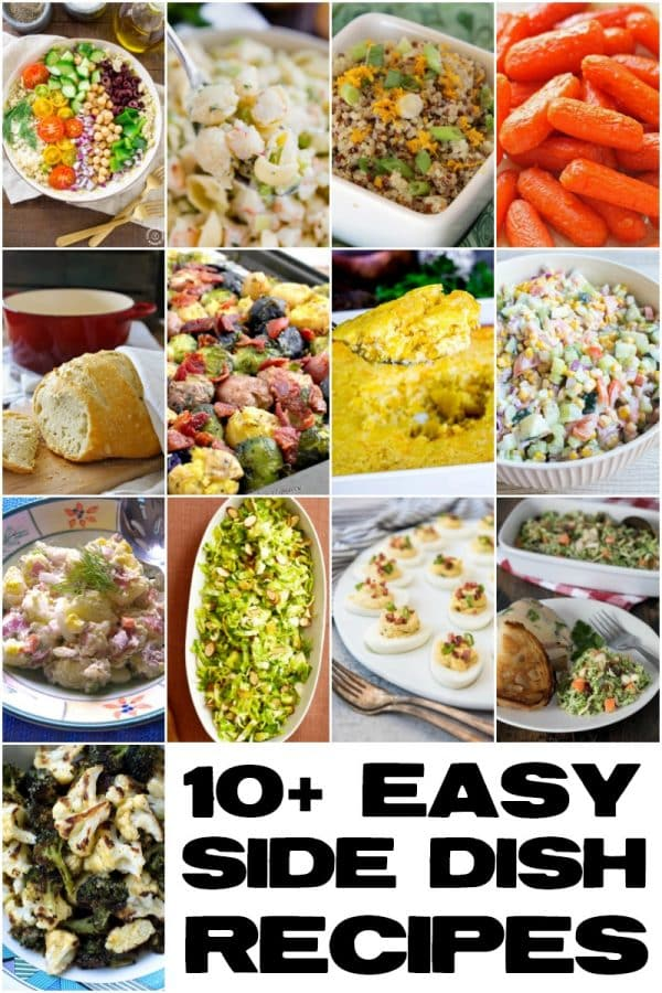 These easy side dishes are super delicious and simple to make- your whole family will love them!