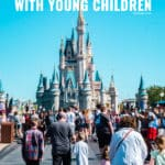 Traveling with kids is both fun and exhausting, so I've put together the mother load of Disney Tips for surviving the Magic Kingdom with young children.