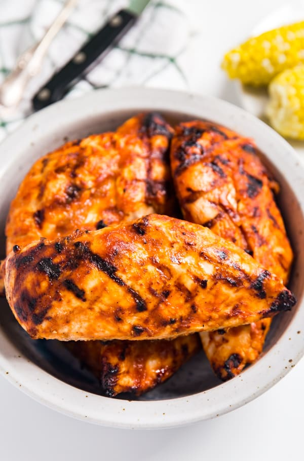 Grandma S Non Smoky Homemade Bbq Sauce And Grilled Chicken