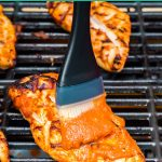 Grandma's Non-Smoky Homemade BBQ Sauce is the crazy easy grilling marinade that you won't be able to stop eating this summer. This is a total crowd-pleaser!