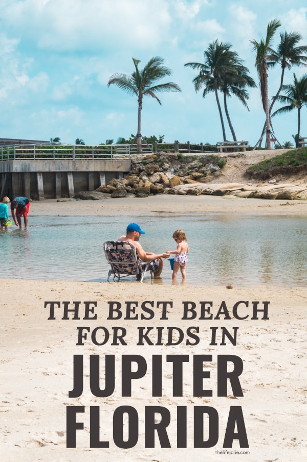 We recently vacationed in Jupiter, Florida and found the very best beach for kids- I'm so excited to tell you all about it! File this under kid friendly beaches in Florida, located just north of West Palm Beach!