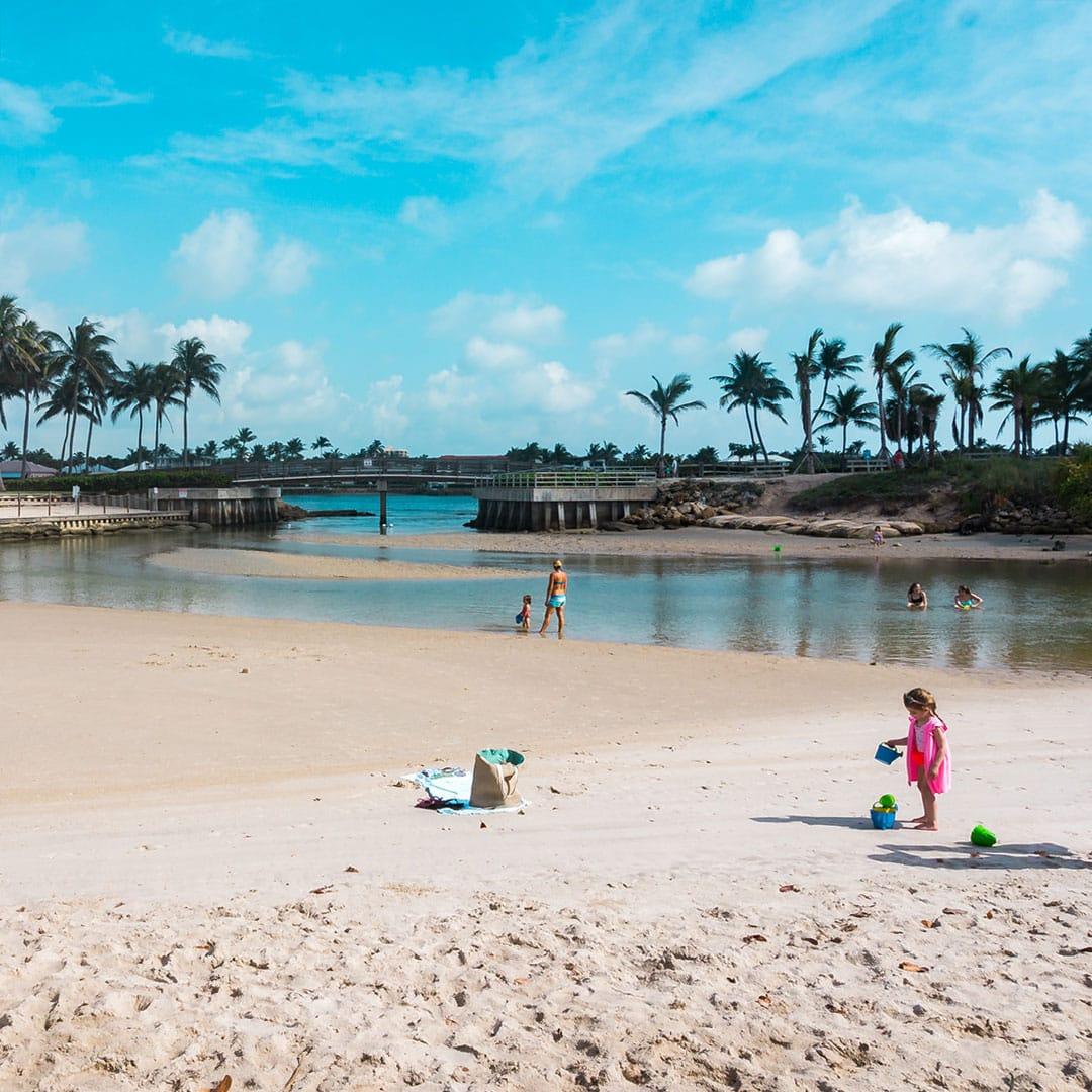 Florida Beach: The Best Beach For Kids In Jupiter, Florida