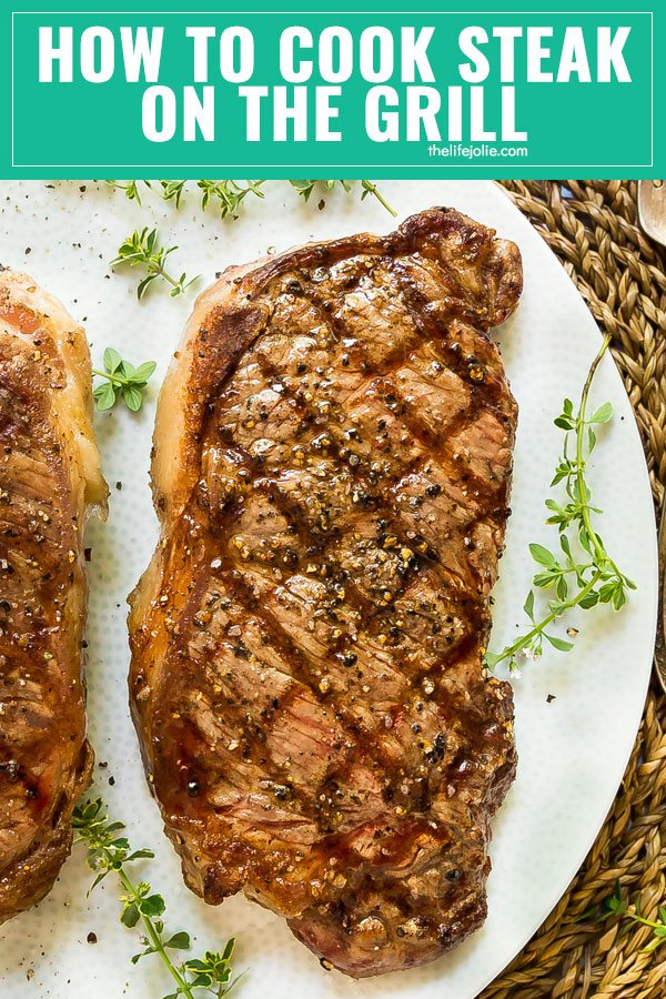One of the best ways to make a steak is on the grill and I'm going to teach you how to cook steak on the grill. In this tutorial you'll learn tips, tricks, hacks and everything you need to know to make it as easy as possible!