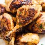 Grilled Lemon Pepper Chicken Drumsticks