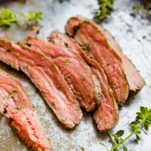 Meet Drunken Steak aka The Best Steak Marinade: your new favorite steak marinade for a hot summer night! Made with red wine, fresh herbs olive oil and dijon mustard It's seriously easy to make and tastes fantastic!
