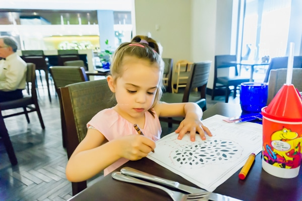 Alice Coloring at the DoubleTree Syracuse