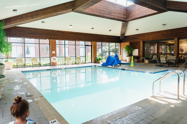 DoubleTree Syracuse indoor pool
