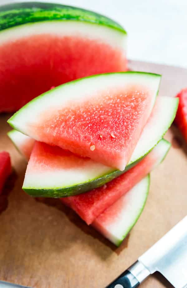 Watermelon is one of my very favorite fruits and I'm so excited to share everything you need to know about enjoying Watermelon this summer, from how to cut a watermelon, to how to pick a watermelon and a few killer ways to upgrade your watermelon!