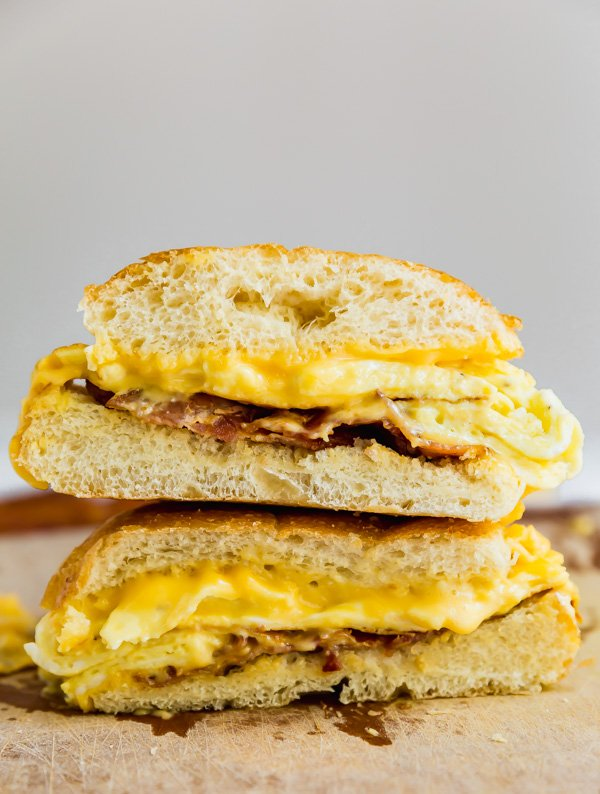 how to make egg sandwich
