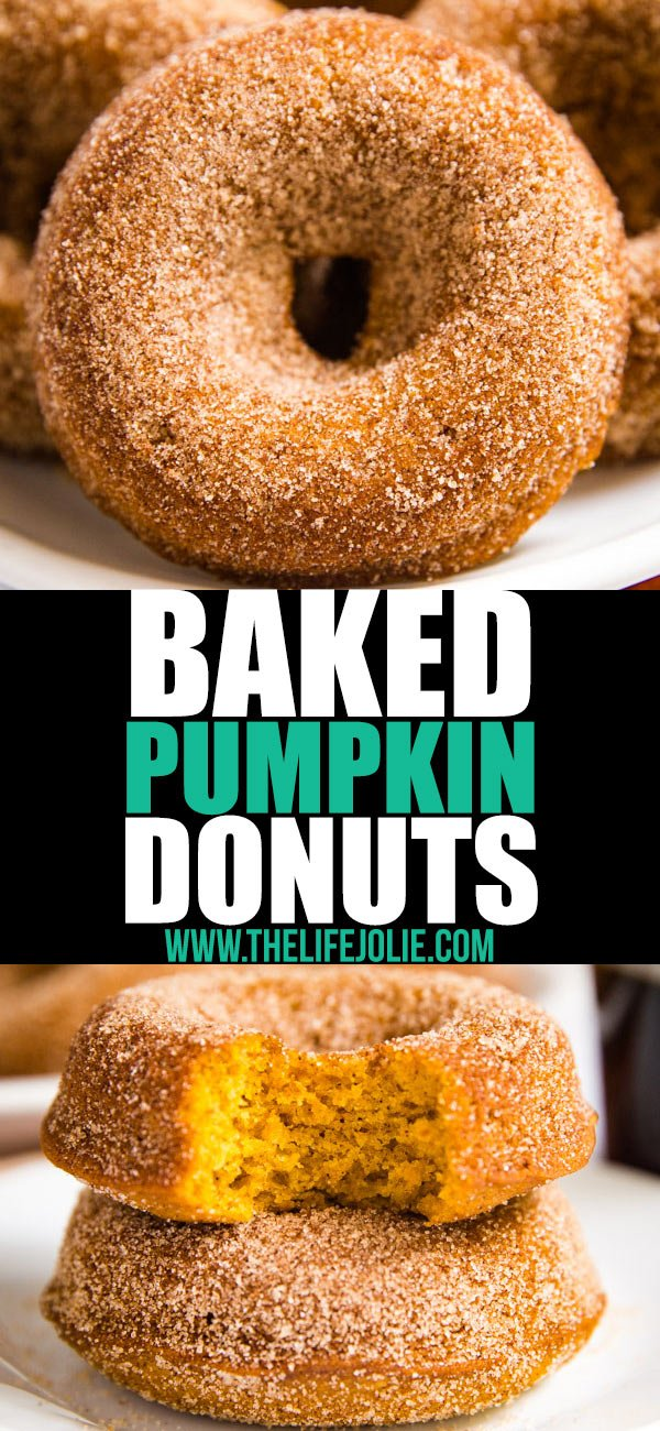 You've got to make this Baked Pumpkin Donut Recipe! They're the most light and fluffy donuts that are perfect with your morning coffee and best of all they're really quick and easy to make.