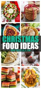 One of the great things about the holiday season is the abundance of delicious treats! So I've put together a guide of all my recipes that are delicious and easy options to make for all parts of your holiday meals. Christmas food never tasted so good!