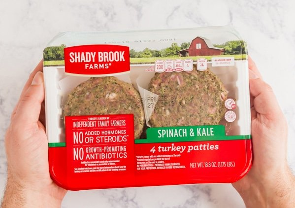Shady Brook Farms Spinach & Kale Turkey Patties