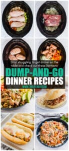 Stop struggling to get dinner on the table and start making dump recipes! With minimal preparation and maximum flavor, these also make fantastic make ahead freezer meals and meal preps for lunches throughout the week. Easy never tasted so good!