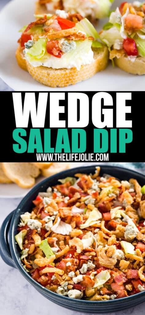 Wedge Salad Dip is a light and refreshing dip that tastes just like everyone's favorite salad! This one will be a hit at your next party!