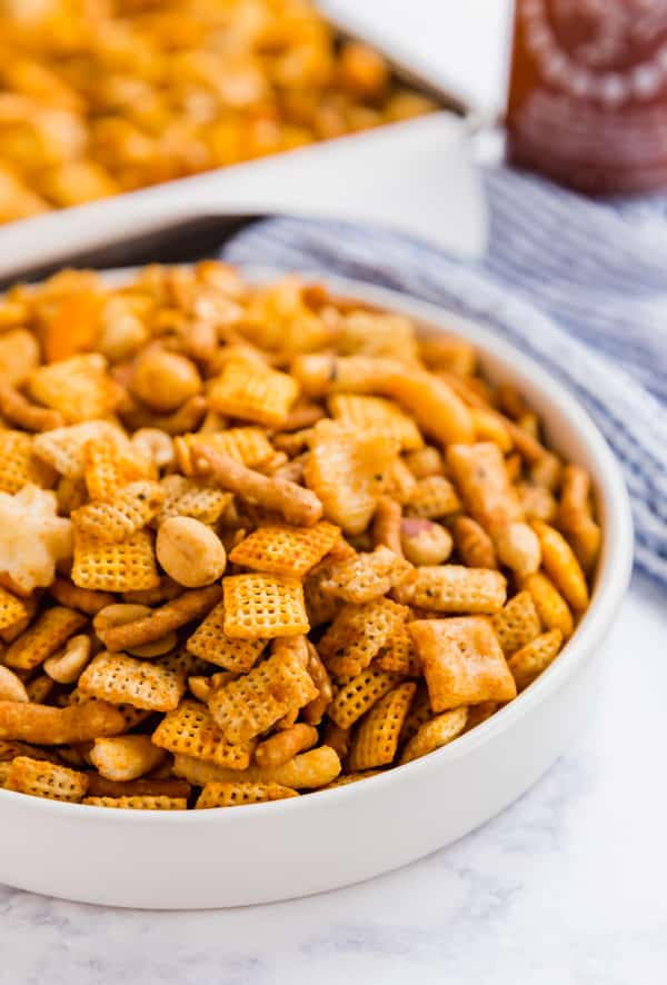 chex mix recipe oven