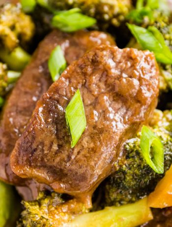 Sheet Pan Beef and Broccoli takes a classic take-out favorite and makes it super quick and easy to make at home. Ready in under 30 minutes, this is a meal the whole family will love!