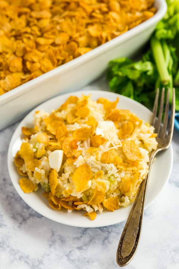 chicken and rice casserole