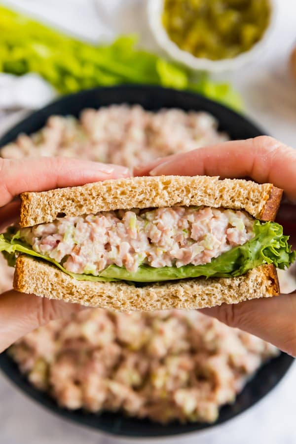 How Do You Make A Ham Salad From Scratch