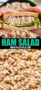 Mom's Favorite Ham Salad is a killer way to use leftover ham. It's ready in minutes with just a few ingredients, this classic recipe is a total keeper!