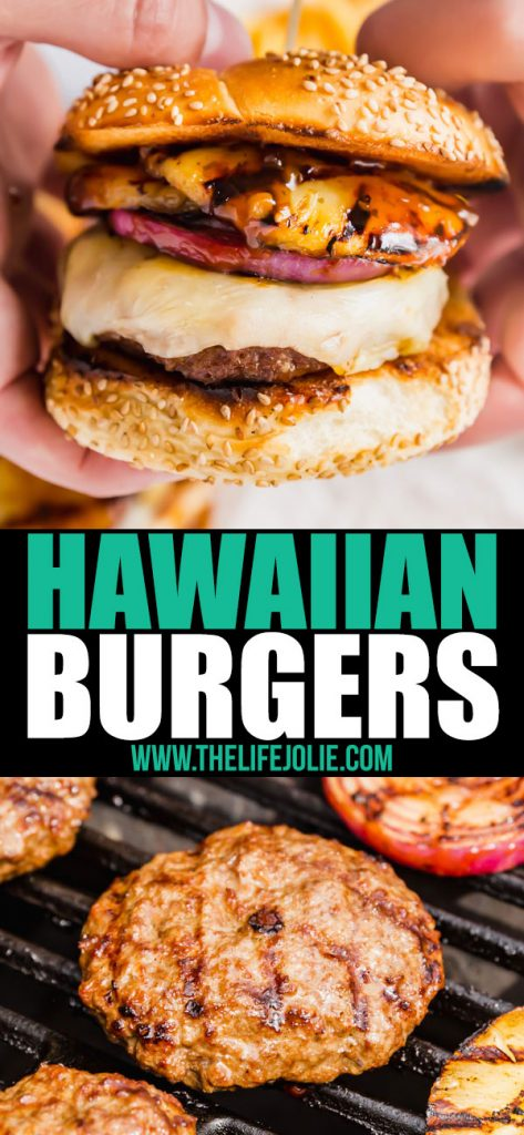 This Hawaiian Burger Recipe brings the perfect combination of sweet and savory. Nothing says summer like a nice, juicy burger and this is an easy recipe the whole family will love!